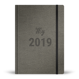 My 2019 diary / Agenda My 2019 version anglaise