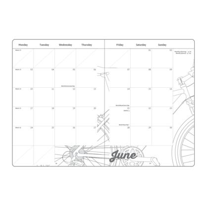 The My 2019 Diary - calendar