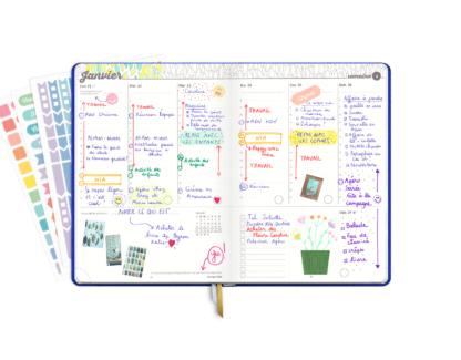 Agenda My 2019 - La semaine remplie par Jennifer !