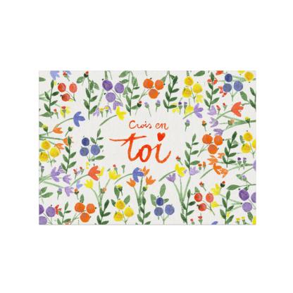 Carte postale Julie Adore