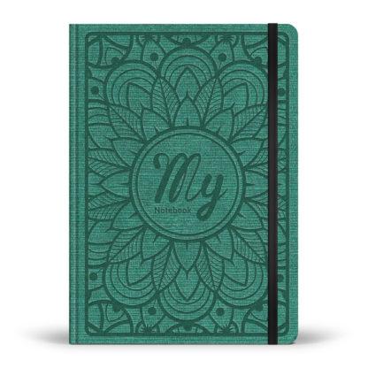 My notebook - carnet pointillé - forêt