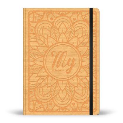 My notebook - carnet pointillé - jaune